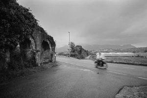 Via Appia: Aqueduct (Minturno, 2010)